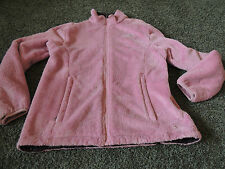 THE NORTH FACE FURRY PINK JACKET WOMENS PINK MEDIUM M