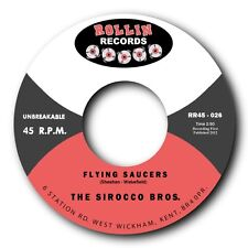 "SIROCCO BROS - ""STOMP"" b/w ""FLYING SAUCERS"" - GREAT DOUBLE SIDED ROCKABILLY BOP!"