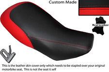 Rojo Y Negro encargo encaja Aeon Cobra 180 doble de piel cubierta de asiento solamente