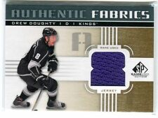 DREW DOUGHTY 2011-12 SP GAME USED AUTHENTIC FABRICS GAME USED JERSEY