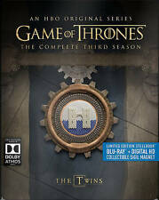 Game of Thrones The Complete Third 3 3rd Season Steelbook (Blu-ray  5-Disc Set)