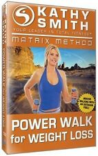DVD - Kathy Smith - Matrix Method: Power Walk for Weight Loss - Total Fitness