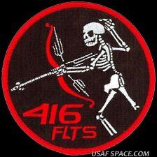 USAF 416th FLIGHT TEST SQ. AEROSPACE EDWARDS AFB TEST ORIGINAL VELCRO PATCH