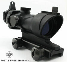 ACOG 4X32 Riflescope Hunting With 20mm Weaver Rail Mount For .223 5.56