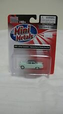 Mini Metals/CMW HO scale #30383 1955 Ford Customline Neptune Green w/Green Roof