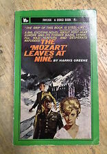 THE MOZART LEAVES AT NINE by HARRIS GREENE-CORGI BOOKS 1963 - P/B UK POST £3.25