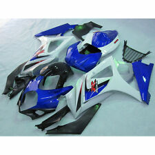 Blue INJECTION ABS Plastic Fairing For SUZUKI GSXR1000 GSXR 1000 07 08 K7 17B