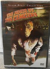 House by the Cemetery (DVD, 2001) RARE 1981 ITALIAN HORROR BRAND NEW ANCHOR BAY