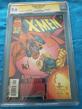 Uncanny X-Men #341 - Marvel - CGC SS 9.6 NM+ - Signed by Joe Madureira