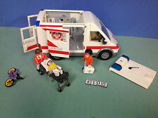 (K100) playmobil Ambulance hôpital ref 4221 / 4404