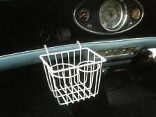 CLASSIC Mini Drink Holder WHITE morris mini minor cooper s