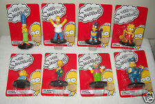 #8666 NRFC the Simpsons Set of 8 Miniature Figures