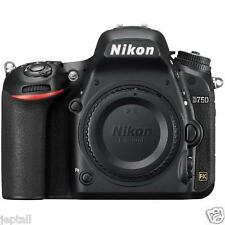 "Nikon D750 Body 24.3mp 3.2"" DSLR Digital Camera Brand New Jeptall"