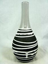 """Seltene 50´s Liesel Spornhauer Design Schloßberg Keramik Vase """" Roulette"""" 49/20"""
