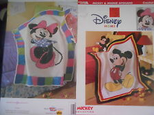 MINNIE MOUSE &. MICKEY MOUSE CROCHET PATTERN AFGHAN S