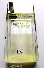 CHRISTIAN DIOR HIGHER ENERGY FOR MEN 3.4 0Z EDT SPRAY NEW  + TOTE