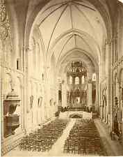 France, Poitiers, Église Sainte-Radegonde Vintage albumen print.  Tirage album