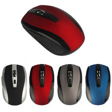 4 Farbe Bluetooth 1600DPI Kabellos Maus Optisch Funkmaus Mini Wireless PC Mouse