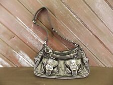 KATHY VAN ZEELAND Shoulder/Hand Bag  Hobo Unique Accents EUC!!