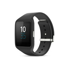 Sony SWR50 Smart Watch Bluetooth SmartWatch 3Android IP68 Silicon black
