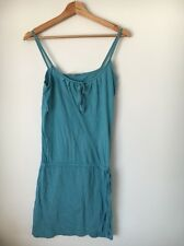 South Duck Egg Strappy Cotton Camisole size 10 dress  T5240
