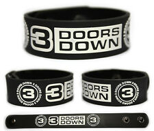 3 DOORS DOWN Rubber Bracelet Wristband Time of My Life The Better Life