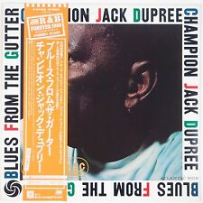 CHAMPION JACK DUPREE: Blues From the Gutter NM Japan R&B Forever OBI LP