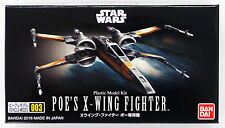 Bandai Star Wars Vehicle Model 003 Poe's X-Wing Fighter kit 063193
