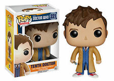 Funko Pop Doctor Who Number 10 David Tennant Sonic Tardas Vinyl Figure #221