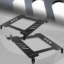 For 2002-2007 Subaru WRX STi Bolt On Steel Race Seat Mount Base Bracket Adapters
