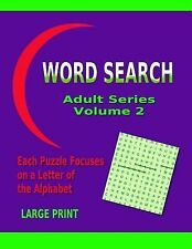 Word Search Ser.: Word Search Adult Series Volume 2 by Info Online (2014,...