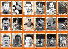 Blackpool FC FA Cup winners 1953 football trading cards