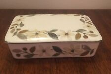 Wedgwood Beaconsfield Cagarette Trinket Dish with Lid NEW