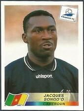 PANINI WORLD CUP FRANCE 1998- #122-CAMEROUN-CAMEROON-JACQUES SONGO'O