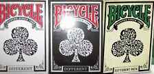 Bicycle Different Playing Cards 3 Deck Set - Limited Edition – SEALED