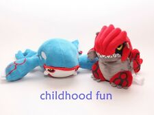 Pokemon Plush Toys Lot Of Kyogre & Groudon Stuffed Animal Brand New Dolls