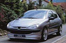 JMS Racelook Frontspoilerlippe für Peugeot 206 XT incl. CC (kleiner Motor)