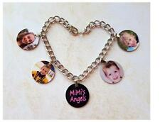 PHOTO CHARM BRACELET Personalized with your photos Mothers Day Memory Gift