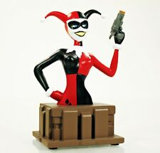 "DC Comics Batman: The Animated Series HARLEY QUINN 6"" Inch Bust Diamond Select"