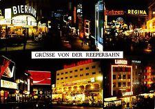 Hamburg , Grüsse von der Reeperbahn , Ansichtskarte, 1980 gelaufen