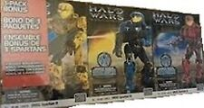 Mega Bloks Halo Wars 3 Sets 29672 29673 29674 NEW! Collectible Red Blue Yellow