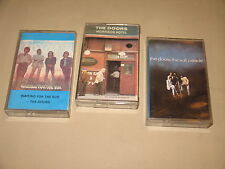 3 x THE DOORS - Soft Parade / Waiting / Morrison Hotel - MC Cassette tape /Z1