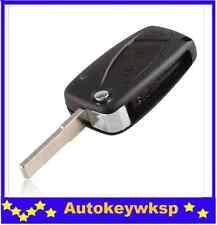 remote key case shell for FIAT 3 button Punto Ducato Stilo Panda Flip Fob black