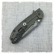 Black Titanium Pocket Clip For Zero Tolerance Hinderer ZT0550 ZT0560 ZT0561
