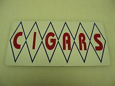 Diamond CIGARS Sign Metal vintage Pop Soda Fountain Drive In Vending Machine