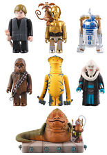 Medicom Star Wars Kubrick DX Series 1 - 7pcs Set with Jabba The Hunt