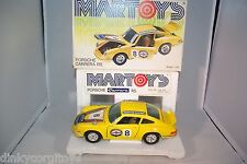 BBURAGO BURAGO MARTOYS 114 PORSCHE CARRERA RS YELLOW MINT BOXED RARE SELTEN!!