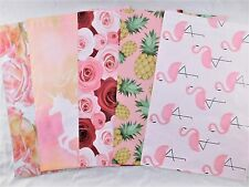 50 Set Designer Roses Flamingo Unicorn Mailers Poly Shipping Envelopes Bags