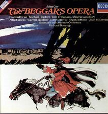 John Gay Beggar's Opera / Bonynge & National Philharmonic Orchestra 2 LP Box Set