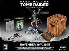 NEW Rise of the Tomb Raider Collector's Edition (Xbox One, 2015)